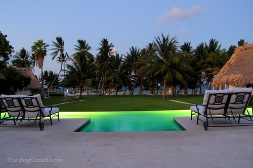Infinity Pool at Victoria House, Belize