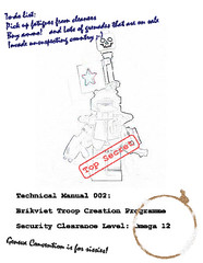 Brikviet Construction Manual (JasBrick) Tags: lego minifig custom brickarms