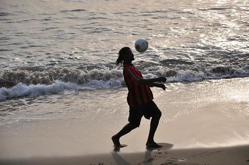 Soccer on St. Vincent