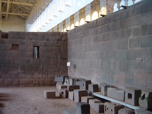Remains of the Inca Temple of the Sun, Cusco