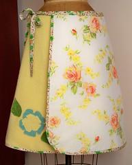 Yellow Blanket Skirt Lining