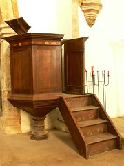 Pulpit St. Peter - Wolfhampcote