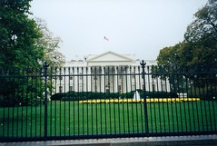 The White House the day I almost threw up inside. (11/03/1998)