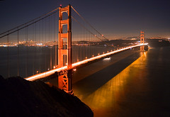 Golden Gate Bridge at Night (!STORAX) Tags: sanfrancisco california usa night unitedstates unitedstatesofamerica goldengate