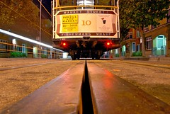 10 (pbo31) Tags: sanfrancisco california road street city longexposure usa color northerncalifornia america dark lights moving movement nikon track traffic 10 under january pass rail tourist lookingup depthoffield northbeach cablecar bayarea fishermanswharf d200 2009 baystreet taylorstreet traffictrails lightstream franciscostreet powellmasonline picsforiphone1009