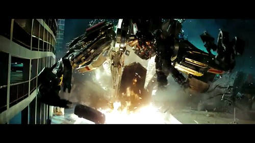 Trailer Transformers 2 Constructicon puente