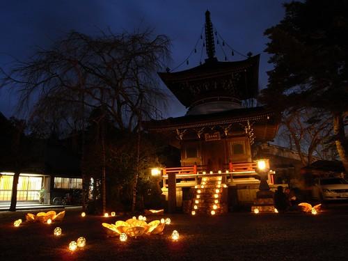 吉野「鬼火の祭典」東南院
