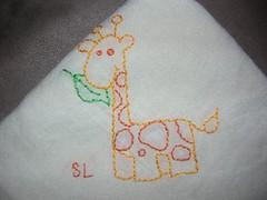 giraffetowel1 (sllehrman) Tags: embroidery towels giraffe
