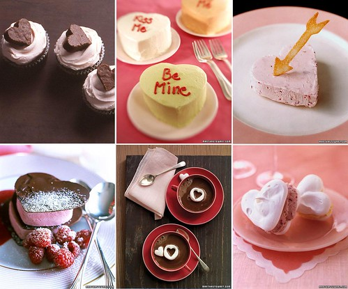 Here are some my favorite valentine's projects and recipe ideas from Martha