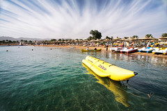 Sharm El Sheikh. Naama Bay. (WomEOS) Tags: holiday beach redsea egypt sharmelsheikh banana 2009 naamabay sharmelshaikh
