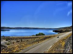 Até mais ver (Claudio Arriens) Tags: road patagonia argentina colors ruta landscape lago carretera paisagem route estrada caminhos montanhas vía sudamerica rutas nahuelhuapi rodovia estradas canonpowershota610