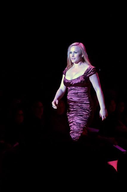 newyork manhattan bryantpark fashionweek nicolemiller patriciaarquette thehearttruth reddressfashionshow