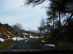Snowy drive (Glenmacnass, Laragh West, Sally Gap, etc.)