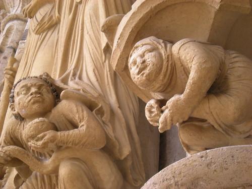 Chartes sculpture