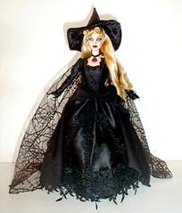 sara of salem witch barbie (plumaluna07@sbcglobal.net) Tags: witch ooak barbie