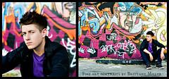 Urban Boy. (Bella Allure Imagery | Brittany Miller) Tags: light boy portrait urban love graffiti model brittany natural god grunge handsome miller hottie writting hes i