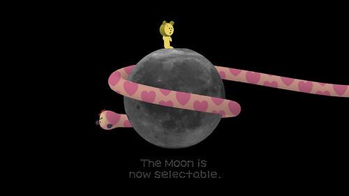 Noby Noby Boy moon