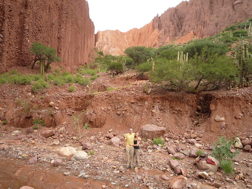 Lindsey and Ben in Cañon del Duende