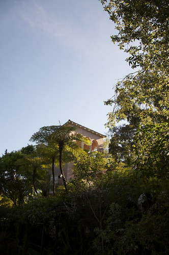The Hotel Bel-Air is so discreet, its hidden behind acres of lush gardens -- nurtured with our Northern California water!