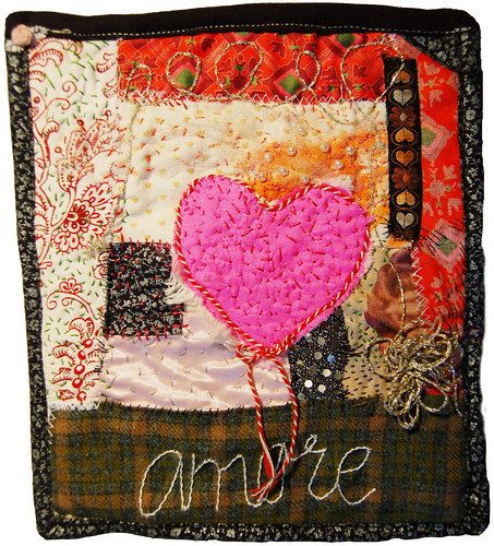 heArt Mini Quilt III (copyright Hanna Andersson)