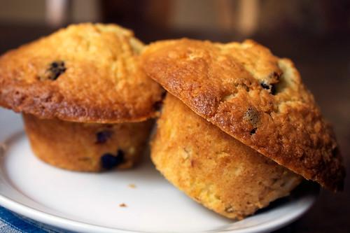 Pistachio Cranberry Coconut Muffins