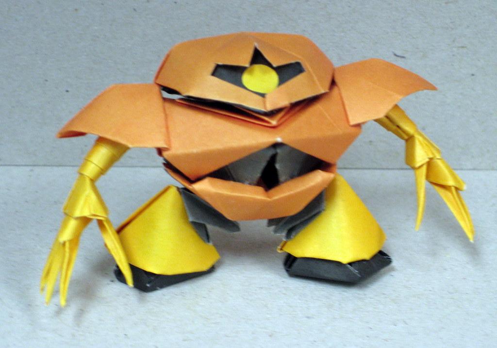 Origami Gundam Series 04 RXMAN Tags Paper Craft