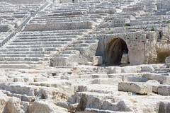 397 Sicily - 12 August 08 (RoCam) Tags: summer italy history archaeology greek ancient theater theatre historic syracuse historical sicily civilization theaters archaeological archeology civilizations civilisation sicilia theatres archeological ancientgreece ancientgreek civilisations scienceandresearch