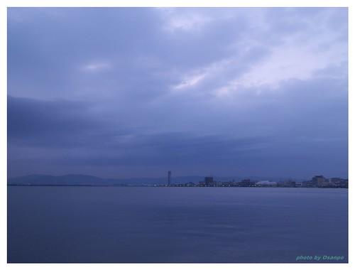 Morning of the Lake Biwa 090327 #01