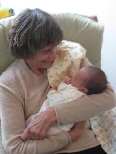 Laila and Grandma Potterat