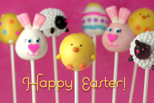 Happy Easter Cake Pops