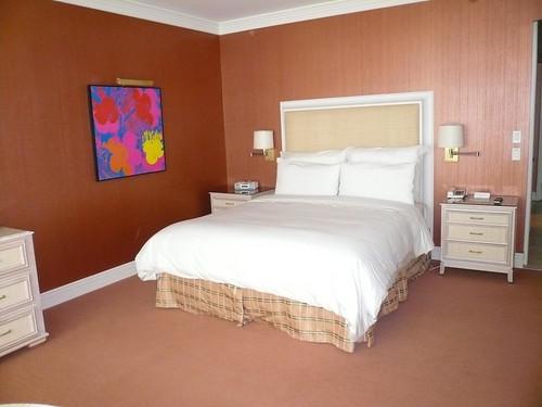 Bed Hotel Room Wynn Las Vegas July 2009