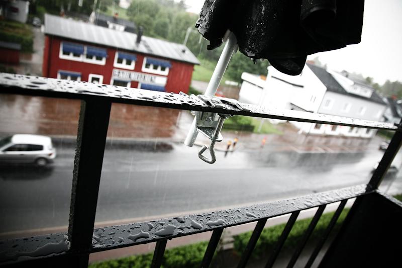 Mitt balkongräcke
