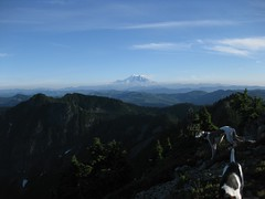 Rainier with clearing