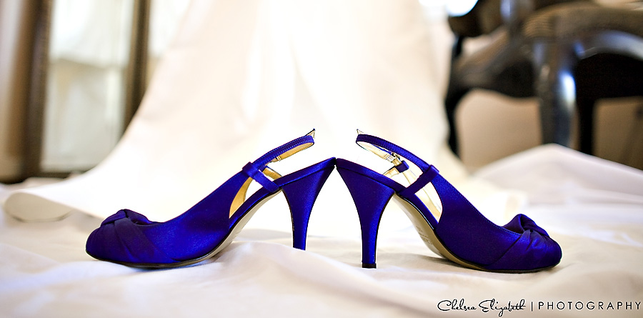 Blue bride wedding shoes wedding dress palos verdes inn wedding photography
