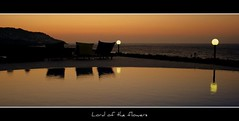Bodrum, Bodrum...          (LORD OF THE FLOWERS) Tags: sunset sea reflection pool silhouette mine 1855mm reflexions 2009 gndoan topshots canonrebelxti theunforgettablepictures goldstaraward