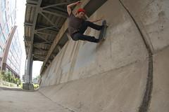 (kr!$+@1k?) Tags: skateboarding skating skate skateboard wallride sk8 tamon