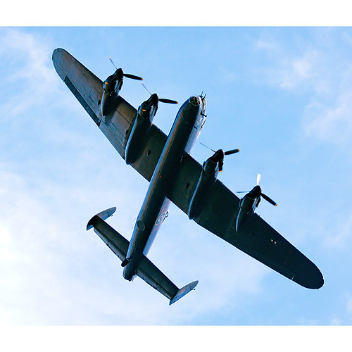 Lancaster, Bleriot celebration, Dover
