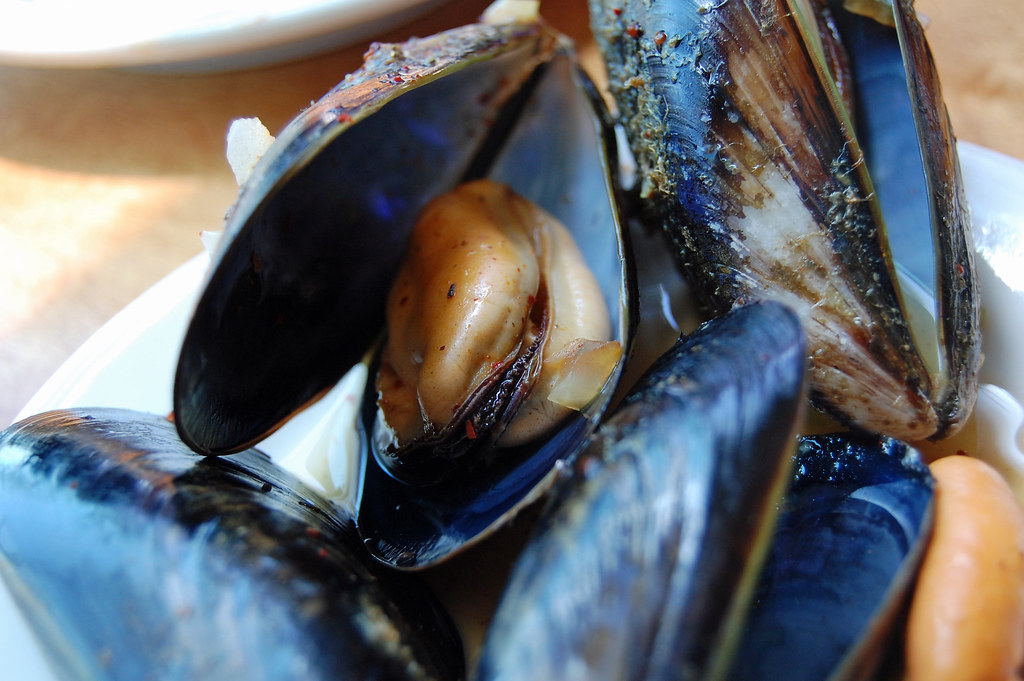 Muelle Tres Ensenada - The Best Mussels ! (Reshoot for Blog)