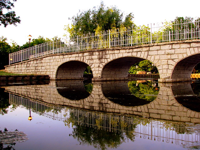 Stone Bridge Replica