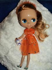 O meu vestido laranja e a Kitty