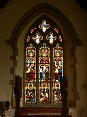 South aisle window, St Leonard - Misterton