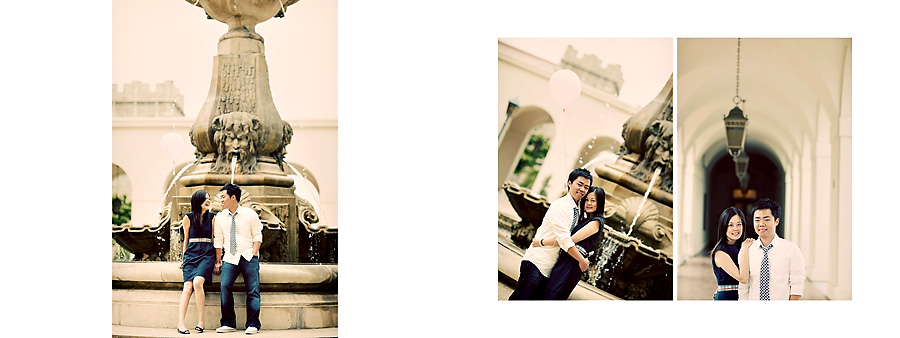Vintage Pasadena City Hall Engagement Session Pg 01