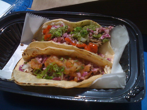 korean tacos from Seoul Shack
