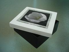 Espelho 1 (Ateliê da Bel) Tags: espelho tampa flor caixa decoupage quadrada