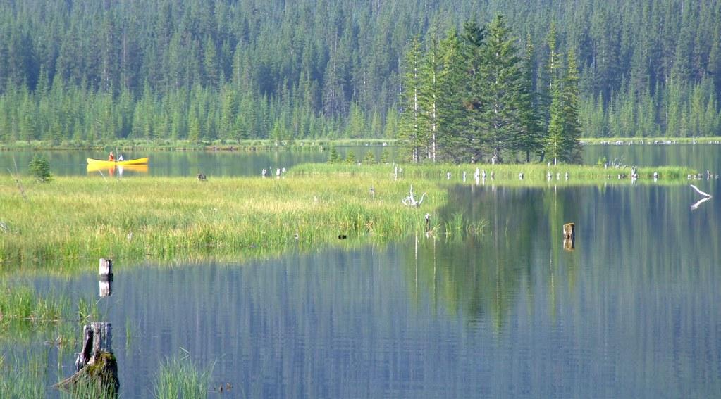 kano op Goat Pond