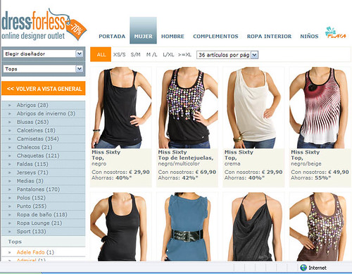 Tienda online Dress for Less