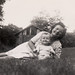 1946 June Brian Becker and Aunt Agnes (Becker) Greiner