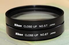 Nikon 6T & 5T Close up lenses (2.9 diopter, 1.5 diopter) (Shadow Hunter) Tags: up lens nikon close filter 6t 5t 62mm