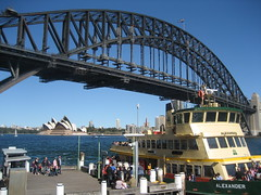 View of Harbour Bridge & Opera House from North Sydney