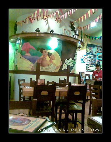 Mexicali festive interior